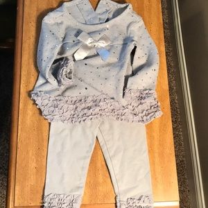 Adorable boutique baby outfit